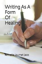 Writing as a Form of Healing