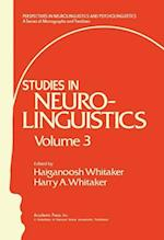 Studies in Neurolinguistics