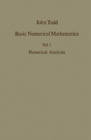 Numerical Analysis af John Todd
