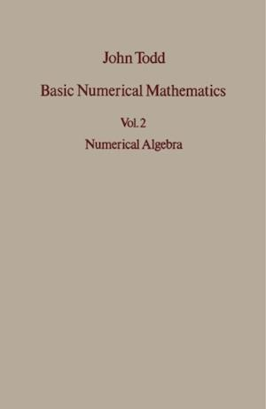 Numerical Algebra