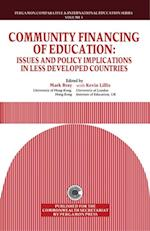 Community Financing of Education (Comparative and International Education Series)