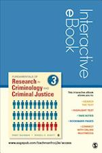 Fundamentals of Research in Criminology and Criminal Justice, Interactive eBook af Ronet D. Bachman