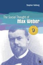 Social Thought of Max Weber