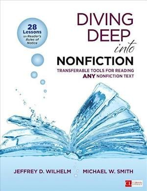 Bog, paperback Diving Deep into Nonfiction af Jeffrey D Wilhelm