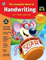 Complete Book of Handwriting, Grades K - 3 (Complete Book of…)