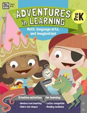 Bog, paperback Adventures in Learning, Pre K af Thinking Kids