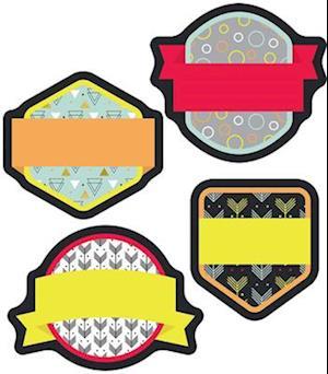 Bog, ukendt format Aim High Badges Mini Cut-Outs