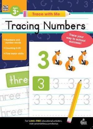 Trace with Me Tracing Numbers