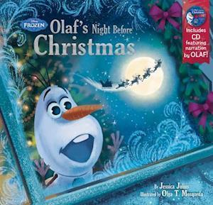 Bog hardback Olaf's Night Before Christmas af Jessica Julius