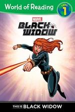 This is Black Widow (World of Reading)