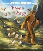 Chewie and the Porgs (Star Wars the Last Jedi)