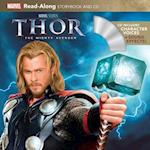 Thor: The Mighty Avenger (Read-along Storybook and Cd)