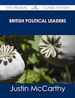 British Political Leaders - The Original Classic Edition af Justin Mccarthy
