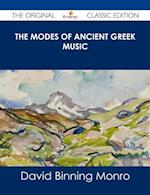Modes of Ancient Greek Music - The Original Classic Edition