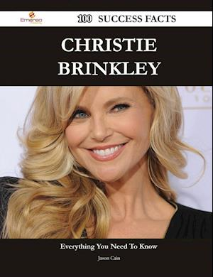 Bog, paperback Christie Brinkley 100 Success Facts af Jason Cain