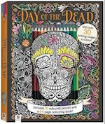 Day of the Dead Colouring Kit with 15 Pencils