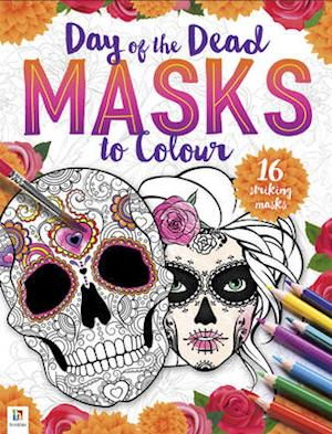 Bog, ukendt format Day of the Dead - Masks to Colour