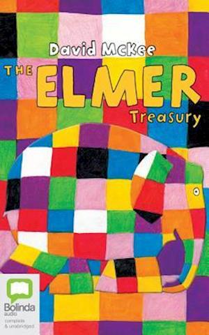 Lydbog, CD The Elmer Treasury af David McKee