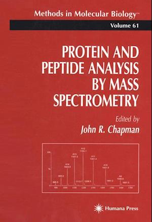 Protein and Peptide Analysis by Mass Spectrometry