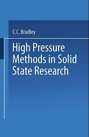High Pressure Methods in Solid State Research