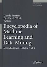 Encyclopedia of Machine Learning and Data Mining