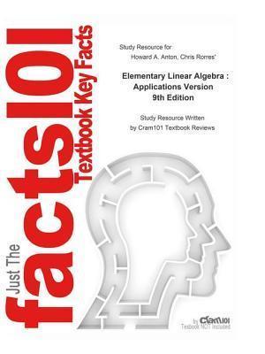 Elementary Linear Algebra , Applications Version af CTI Reviews