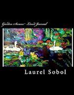 Garden Swans Lined Journal af Laurel Sobol