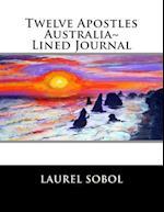 Twelve Apostles Australia Lined Journal