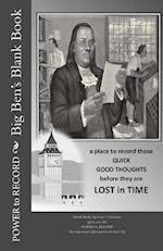 Big Ben's Blank Book
