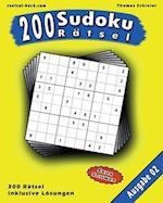 200 Sudoku Ratsel, Ausgabe 2 af Thomas Schreier