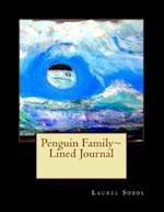 Penguin Family Lined Journal