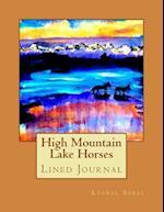High Mountain Lake Horses