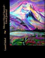 Mount Hood Surreal Lined Journal