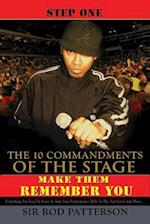 The 10 Commandments of the Stage