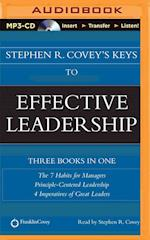 Stephen R. Covey's Keys to Effective Leadership