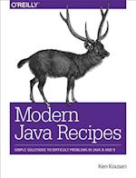 Modern Java Recipes