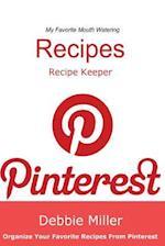 Pinterest Recipes (Blank Cookbook) af Debbie Miller