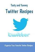 Twitter Recipes (Blank Cookbook to Organize Your Twitter Recipes)