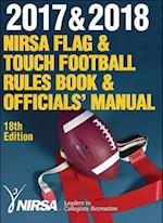 2017 & 2018 NIRSA Flag & Touch Football Rules Book & Officials' Manual 18th Edition