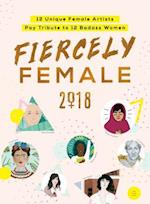 2018 Fiercely Female Wall Poster