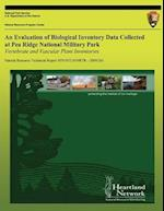 An Evaluation of Biological Inventory Data Collected at Pea Ridge National Military Park