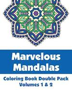Marvelous Mandalas Coloring Book Double Pack (Volumes 1 & 2) af Various, H. R. Wallace Publishing