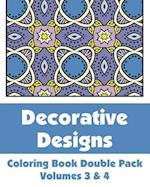 Decorative Designs Coloring Book Double Pack (Volumes 3 & 4) af H. R. Wallace Publishing, Various