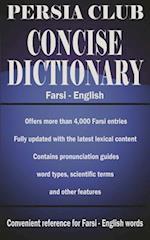 Persia Club Concise Dictionary Farsi - English af Jalal Daie, Reza Nazari