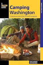 Falcon Guides Camping Washington (Falcon Guides: Where To Camp)
