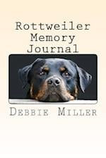 Rottweiler Memory Journal