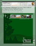 An Evaluation of Biological Inventory Data Collected at Tallgrass Prairie National Preserve