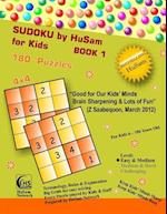 Sudoku by Husam for Kids Book 1 ( 180 Puzzles, 4x4 ) af Husam Network