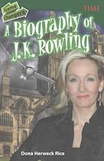 Game Changers A Biography of J. K. Rowling (Time for Kids: Nonfiction Readers)