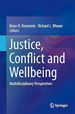 Justice, Conflict and Wellbeing